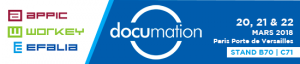 Documation 2018 @ Paris Porte de Versailles Pavillon 4.3